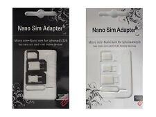 NEU UNIVERSAL Sim Karten Adapter Nano Micro Nadel Handy Smartphone Iphone  Z12