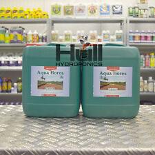 Canna Aqua Flores A+B 10 Litre Flowering Plant Food Base Nutrients Hydroponics