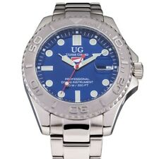 Ulysses Girard Men's Stainless Steel Sport Diver Watch Water Resistant To 330 Ft