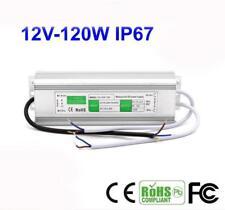 12V 10A 120W Waterproof IP67 Power Supply LED Driver Transformer LED Light Strip
