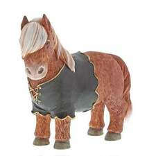 Border Fine Arts Country Couture Gordon Highland Pony A28996 10cm Figurine. New.