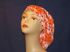 Surgical Scrub Hat Cap Smaller Bouffant Women Ladies Medical European Handmade
