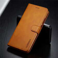 For Samsung Galaxy Note 10 Plus 20 Ultra Leather Magnetic Wallet Flip Case Cover