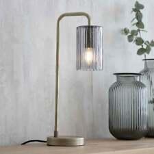 Garden Trading Hoxton cône verre Triple Bar Lumière Pendentif en nickel satiné