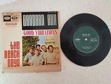 vinyl  THE BEACH BOYS   ---GOOD VIBRATIONS/BARBARA ANN+1    *PRINTED IN ISRAEL*