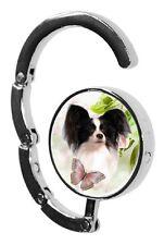 Papillon Dog Table Bag Handbag Purse Hanger Hook-2 paws2print