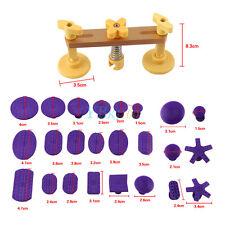 Car Body Dent Repair Removal PDR Bridge Puller Sets & 24 Pcs Glue Tabs Kit Hot