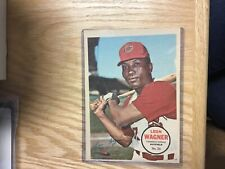 1967 Topps Pin Up Poster Leon Wagner Cleveland Indians