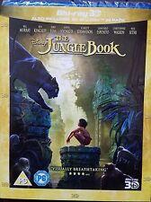 The Jungle Book Blu-ray 3D Region Free New!