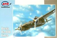 MPM Production 1:72 Breda Ba.88B Lince Aircraft Model Kit