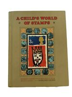 A Child's World of Stamps, Mildred DePree, 1973, Vintage Hobby Book