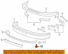 RETAINER Bumper/Fascia GENUINE GM 15733971