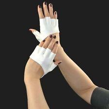 Gants PU cuir Demi-doigt Conduite Dance Pole représentation 9Couleurs au choix