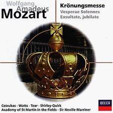Mozart Krönungsmesse, KV 317/Vesperae solennes de confessore, KV 339/Exsu.. [CD]