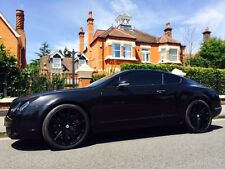 "21"" Bentley GT SSR2 Black alloy wheels and continental tyres"