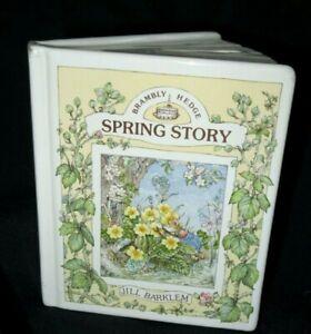 Brambly Hedge SPRING STORY Money Box Royal Doulton 1989 Book Shape Jill Barklem