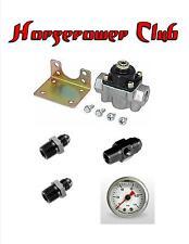 Quick Fuel 30-803 Holley Fuel Pressure Regulator Fittings Gauge Adapter