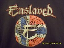 New And Never Worn Size Xxl Black Tshirt From Enslaved 2014 Tour * My Last One *