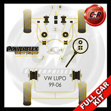 VW Lupo (99-06) Powerflex Black Complete Bush Kit