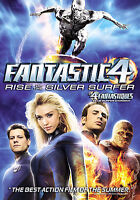The Fantastic Four: Rise of the Silver Surfer (DVD, 2007, Canadian; Dual Side)