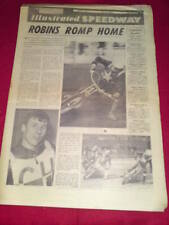 ILLUSTRATED SPEEDWAY - ROBINS ROMP HOME - April 28 1967 Vol 2 # 4