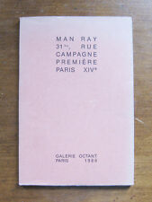 RARE 1/350 MAN RAY 1986 Galerie Octant Paris PB Nudes photgraphy