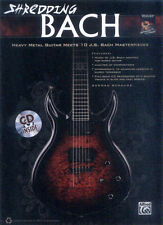 Shredding Bach German Schauss E-Gitarre Guitar Noten und Tab mit CD