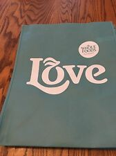 "(1)  Whole Foods  (Small)  ""Light Blue Love""   Reusable Grocery  Bag"