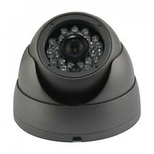 IR Night Vision outdoor vandal dome Turret Eyeball CCTV Camera 650TVL OSD DWDR