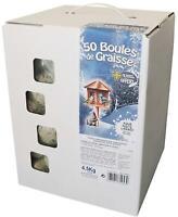 Agrobiothers, Cartone di 50 Palline Grasso per Uccelli/Animali Selvaggi Agrobiot