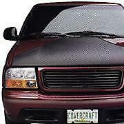 MiniMotion Hood Bra: 1982-94 Fits CHEVROLET S10 BLAZER (Black) (MB226)