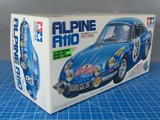 New Vintage Tamiya 1/10 R/C Renault Alpine A110 Car Kit M-02 Chassis # 58168