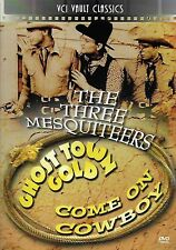 Three Mesquiteers Double Feature, Ghost Town Gold/Come On Cowboy  (DVD, 2011)