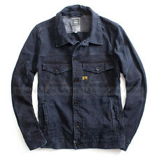 G-STAR RAW JACKET SILVER DENIM BLAZER MAZARINE BLUE SLIM SIZE XL /X-LARGE