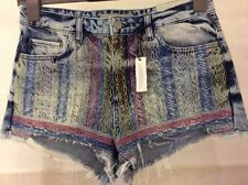 Topshop Mid Rise Regular Size Shorts for Women