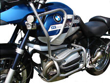 Paramotore HEED BMW R 1150 GS (1999 - 2004) - Full Bunker argento + Borse