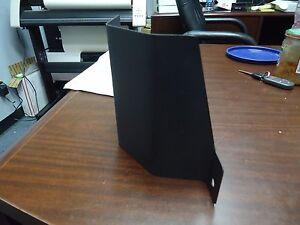 S13 (1989-1993) Brake Master Cylinder Heat Shield: Metal Black