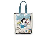 Bolso Bandolera Shopping Blancanieves Disney Original Medida Cm. 30 x 37.5 x 10