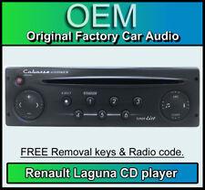 Renault Laguna CD player, Renault Cabasse car stereo with keys + radio code