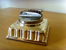 Used display in store - LIGHTER DESKTOP plaque silver - used