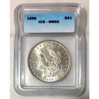 1886 Morgan Dollar ICG MS65 #151387