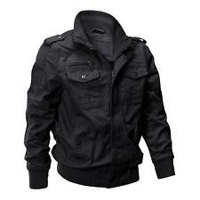 TACVASEN Mens MA-1 Jacket Military Cargo Pilot Cool Coats Bomber Jackets Outwear
