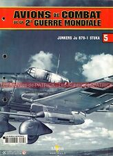 AVIONS DE COMBAT  5 WW2 JUNKERS JU 87 G-1 STUKA ; Hans Ulrich RUDEL ; LUFTWAFFE