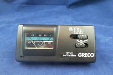 Greco Guitar Tuner GT-01 Quartz Input Output Battery