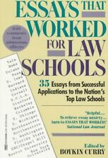 Essays That Worked for Law School: 35 Essays from Successful Applications to th