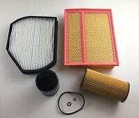 Ölfilter Luftfilter Pollenfilter Kraftstofffi. W202 S202 C 200 D C 220 D C 250 D