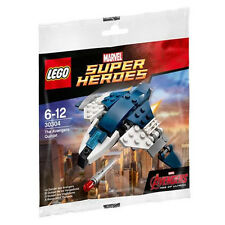 New Lego Super Heroes The Avengers Quinjet 30304 Sealed Polybag