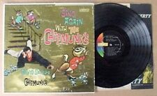 DAVID SEVILLE & CHIPMUNKS - SING ALONG WITH. - LIB. LP