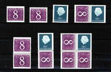 Nederland Stockkaart Combinaties uit Postzegelboekjes 4 Postfris