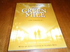 The Green Mile : The Screenplay by Stephen King (2000, Trade Paperback)